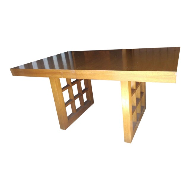 Mid-Century Walnut Dining Table - Image 1 of 5