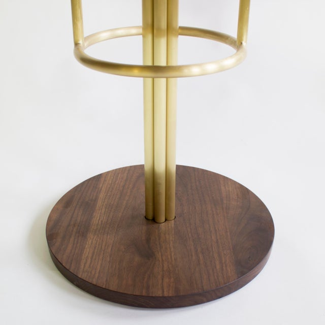 Gold Inez Bar and Counter Stool For Sale - Image 8 of 10