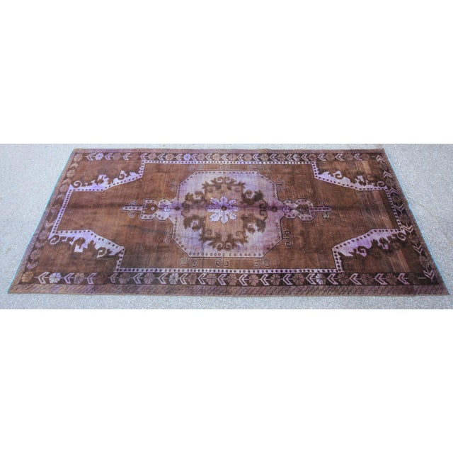 Vintage Tribal Turkish Rug - 5' X 10' - Image 2 of 5