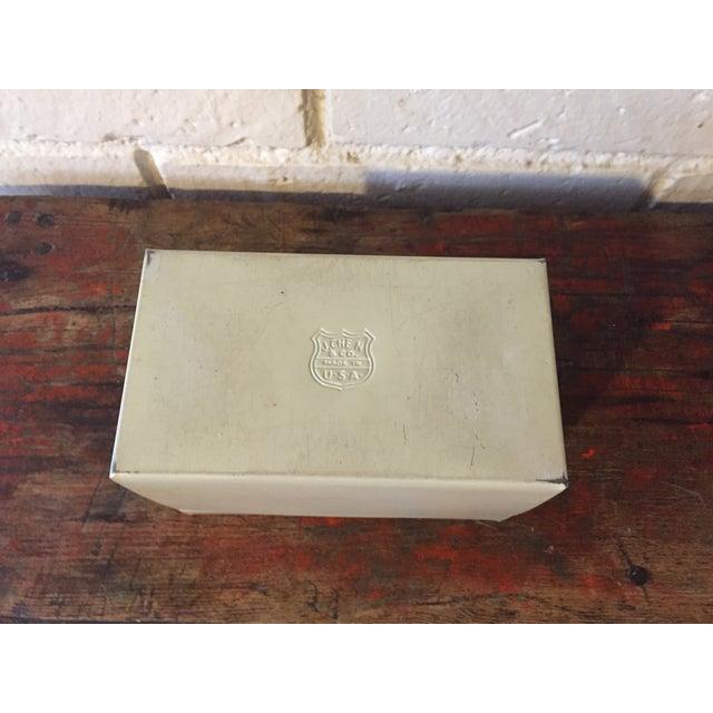 Tin Recipe Box With Fruit - Image 7 of 9