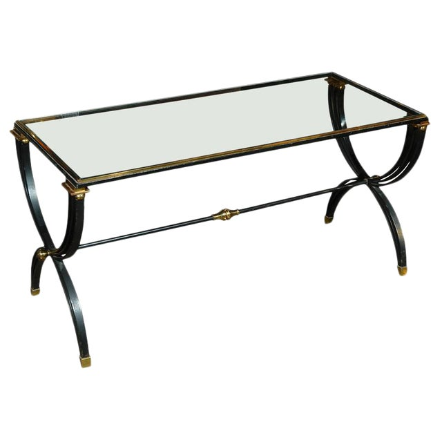 Raymond Subes Attributed French Cocktail Table For Sale