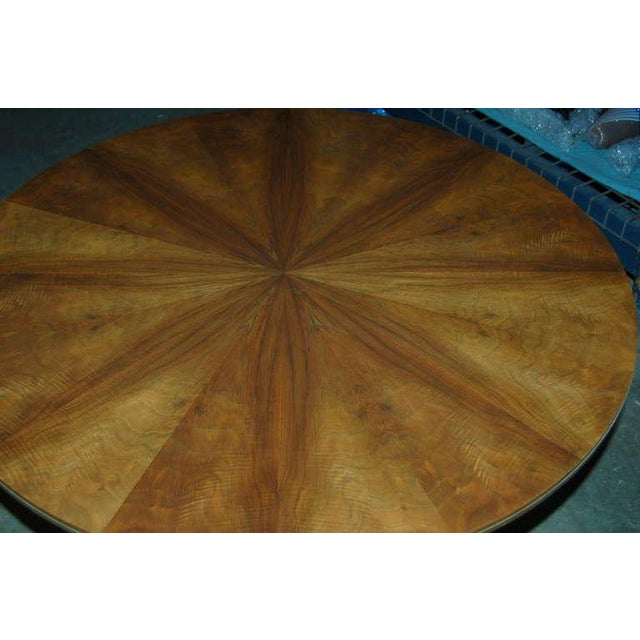 Brass Jese Mobel Danish Vintage Wood Table For Sale - Image 7 of 10
