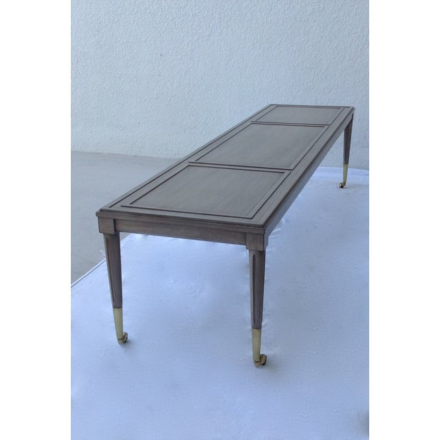 Italian Hollywood Regency Long Cocktail Table - Image 10 of 11