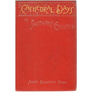 Cathedral Days: Tour of Southern England For Sale