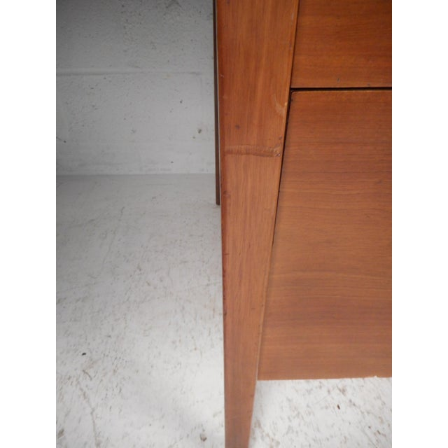 Mid-Century Modern Desk With Side Extension For Sale - Image 10 of 12