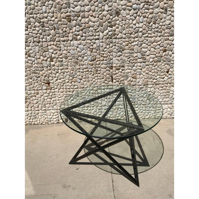 This gorgeous bronze table came from the same Steve Chase Estate as the gorgeous sofa on separate listing. Do not know if...