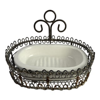 French Soap Dish For Sale