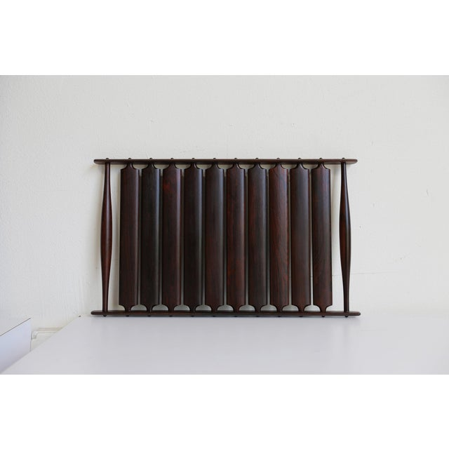 Mid 20th Century Mid-Century Modern Jens Quistgaard for Dansk Rosewood Tray For Sale - Image 5 of 6