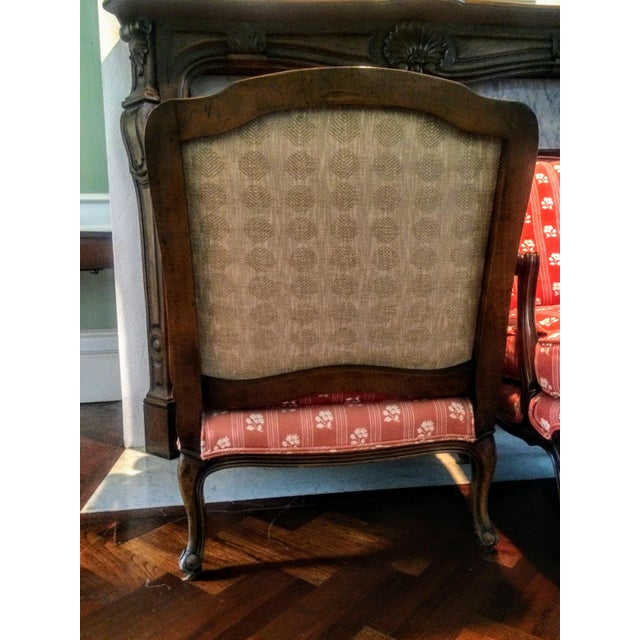Baker Furniture Bergere Chairs - A Pair - Image 7 of 11