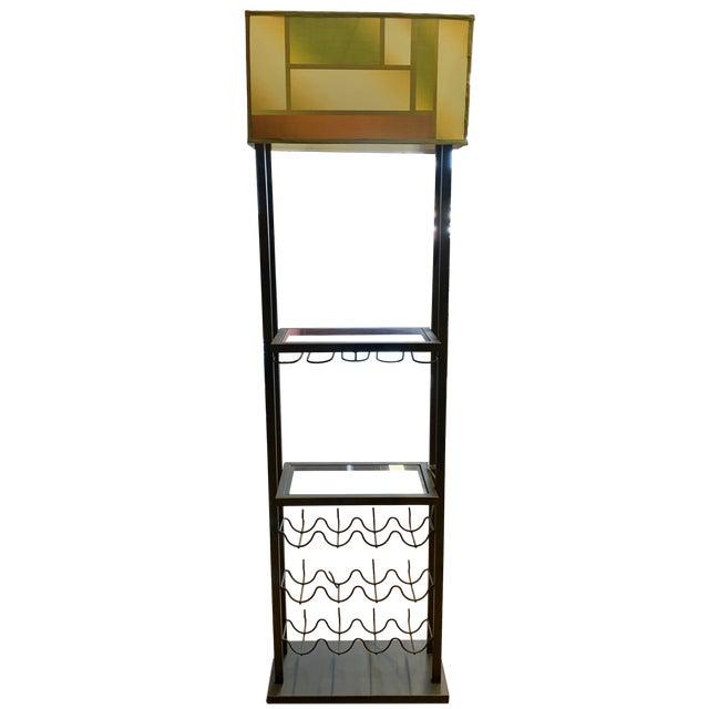 Van Teal Bacchus Wine Rack Floor Lamp For Sale - Image 9 of 9