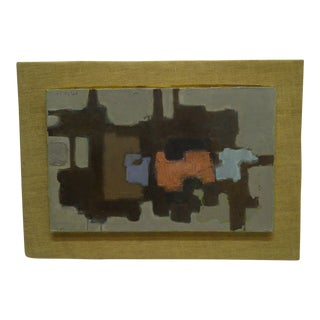 """""""Abstract Piano"""" Signed Original Framed Painting on Canvas by Frederick McDuff"""