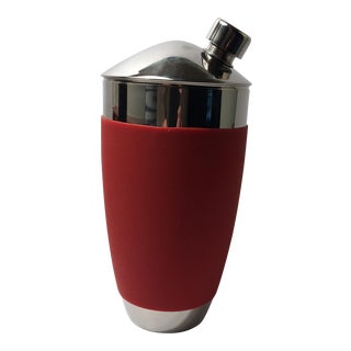 Vintage Sure Grip Stainless Steel Cocktail Shaker For Sale