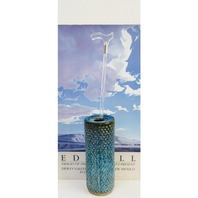Bitossi Raymor Tall Pottery Ashtray Floor Vase Chairish