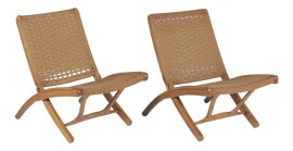 Image of Danish Modern Side Chairs