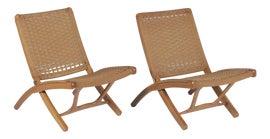 Image of Danish Modern Side Chairs