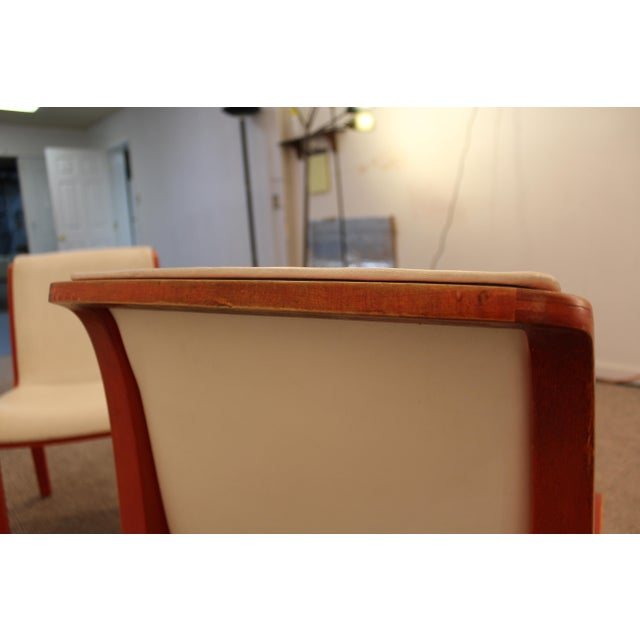 Knoll Bill Stevens Mid-Century Bentwood Side Chairs - A Pair For Sale - Image 9 of 11