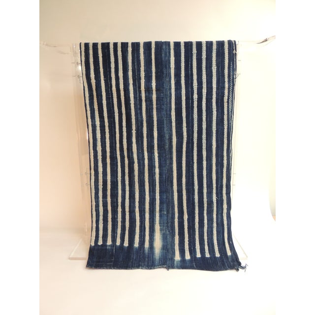 Vintage Yoruba and Baulé Warp Ikat Artisanal cloth. West Africa vintage Yoruba and Baulé warp ikat. Ikat is the process...