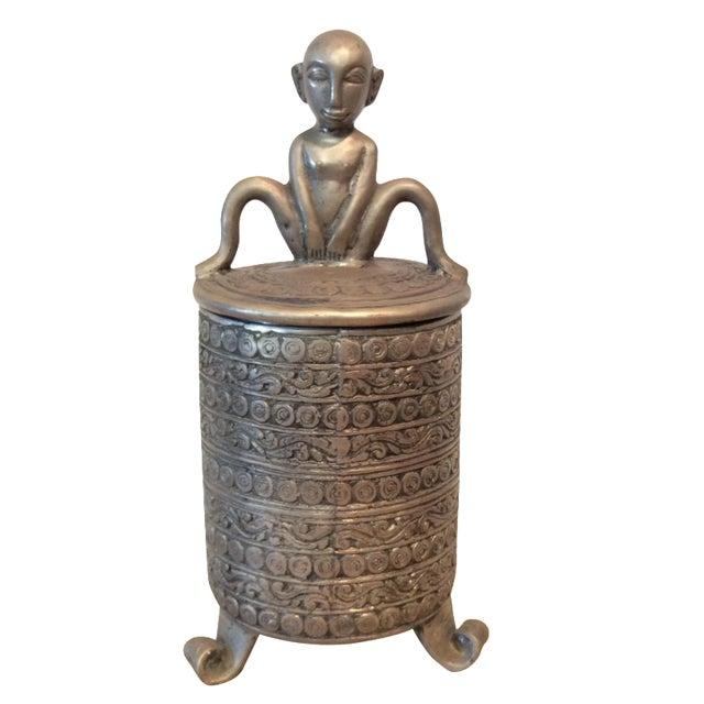 Jar with Man - Image 1 of 7