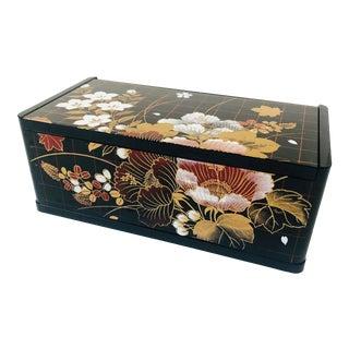 Vintage Lacquerware Tissue Box Cover For Sale