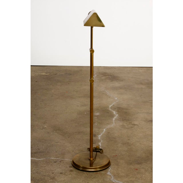 Cedric hartman style brass reading pharmacy floor lamp chairish cedric hartman style brass reading pharmacy floor lamp for sale in san francisco image 6 aloadofball