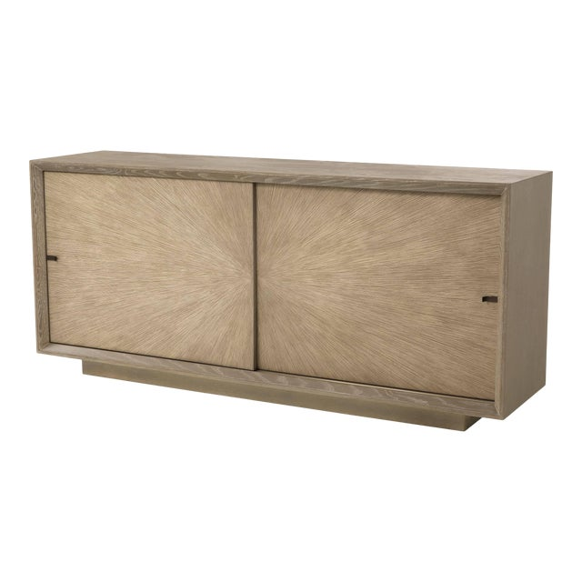 Mid-century Oak Sideboard | Eichholtz Lazarro For Sale