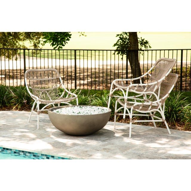White Coronado Stackable Lounge, Café - White For Sale - Image 8 of 9