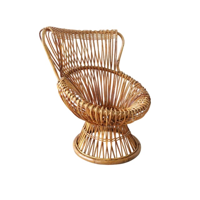 Vintage Franco Albini Margherita Chair For Sale