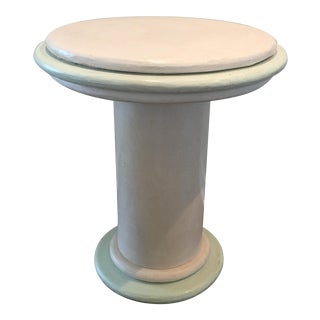 1980s Contemporary Pastel Bespoke Side Table For Sale
