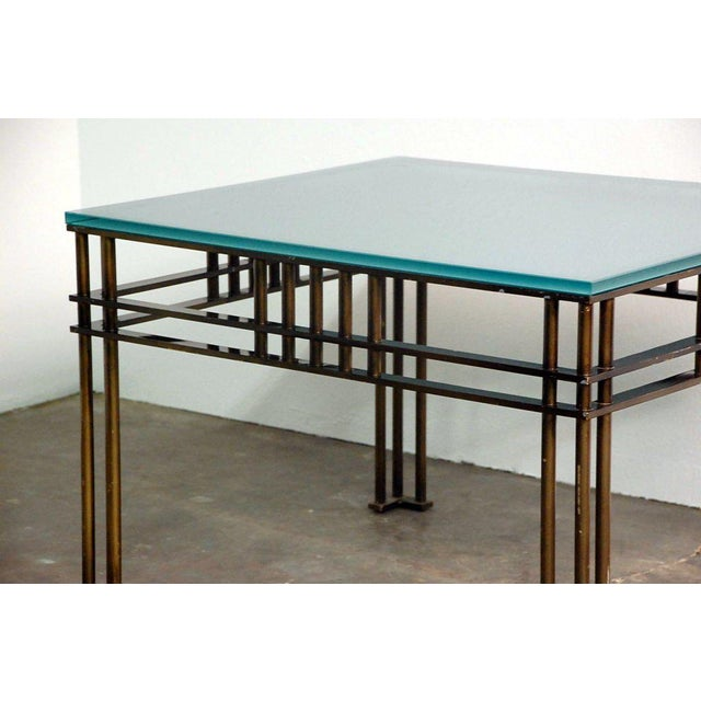 Modern Attila Coffee or Low Centre Table by Jean-Michel Wilmotte For Sale - Image 3 of 8