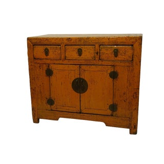 Painted Chinese Cabinet, 19th Century For Sale
