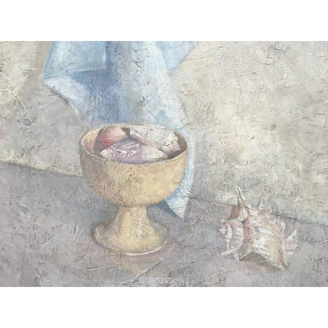 Original Oil Still-Life by Listed Artists, Katka Kompaneyets For Sale In Palm Springs - Image 6 of 8