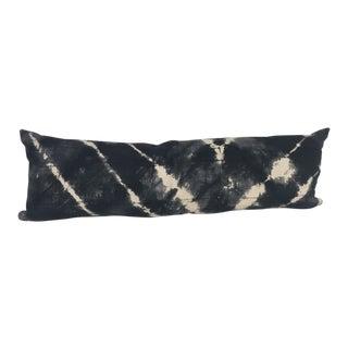 African Mud Cloth Long Lumbar Pillow