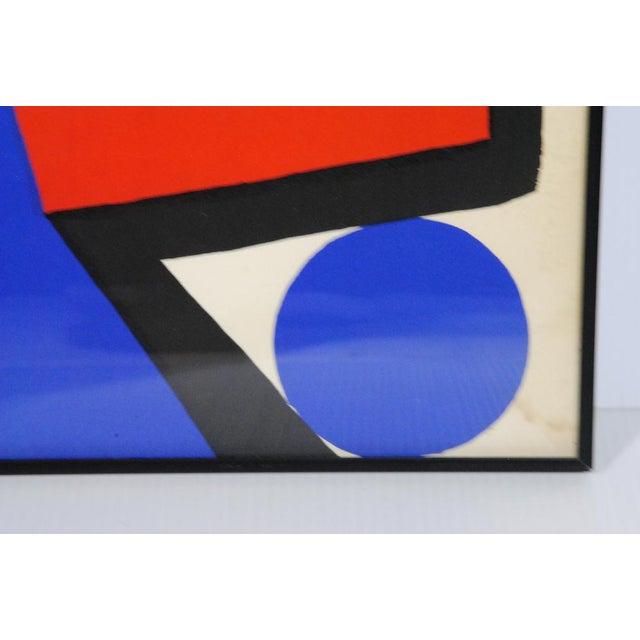 Alexander Calder Asymetrie Silk Screen by Alexander Calder For Sale - Image 4 of 5