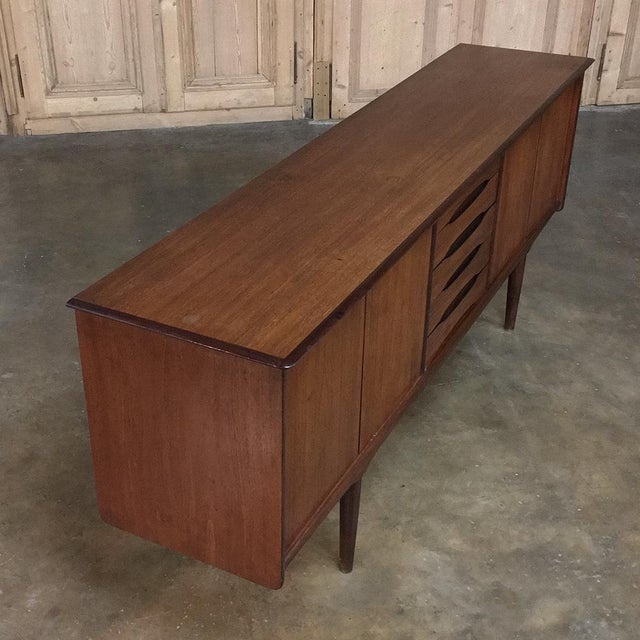 Mid-Century Modern Mahogany Low Buffet For Sale - Image 9 of 13