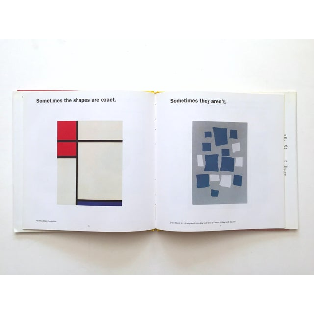 """"""" Colors, Shapes, Lines """" Rare Vintage 1991 1st Edition Museum of Modern Art Children's Art Books - Set of 3 For Sale In Kansas City - Image 6 of 12"""