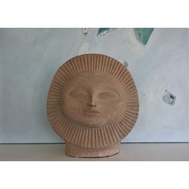 1968 Paul Bellardo Sun Face Sculpture - Image 6 of 7
