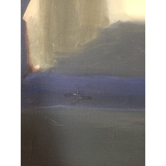 Mid-Century Original Painting For Sale - Image 4 of 7