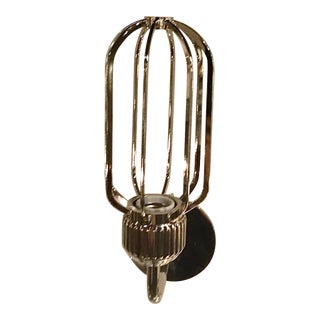 Regina Andrew Industrial Modern Polished Nickel Rupert Wall Sconce For Sale