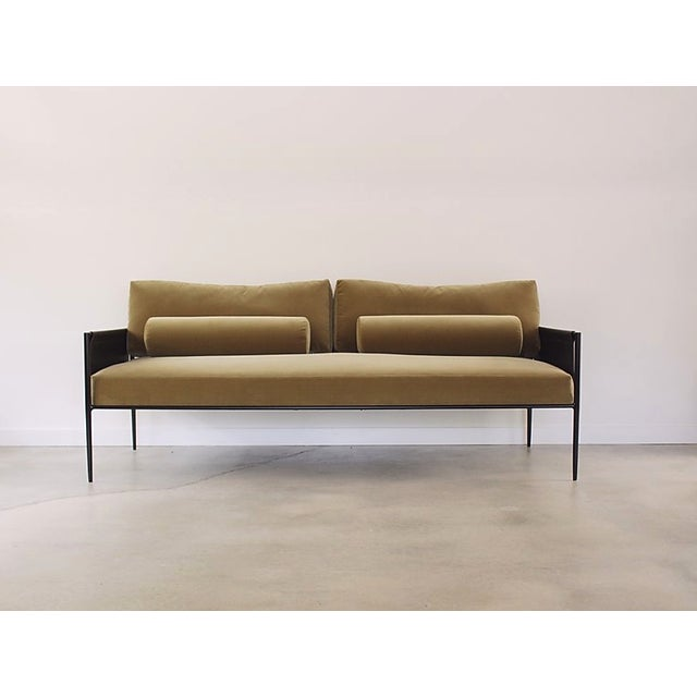Metal Lucca Sofa by Fluxco Design For Sale - Image 7 of 7