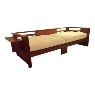 RM Schindler Style Modernist Architect Daybed For Sale