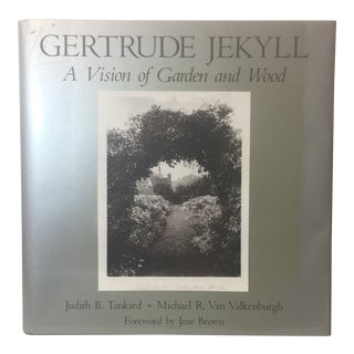 1989 Vintage Gertrude Jekyll a Vision of Garden and Wood Book For Sale