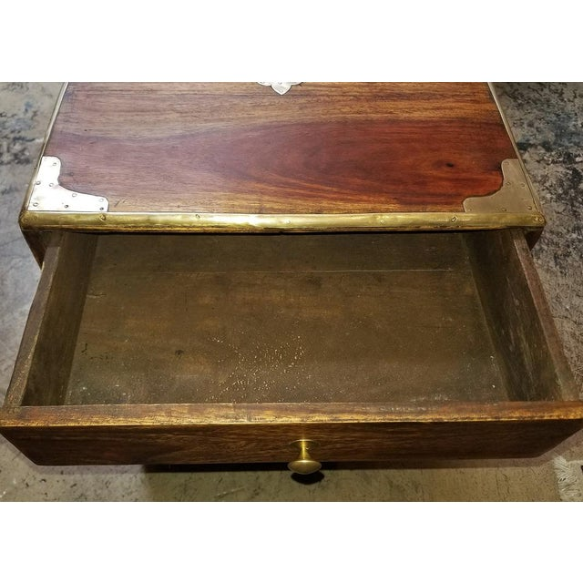 Campaign Style Mini Chest For Sale - Image 12 of 13