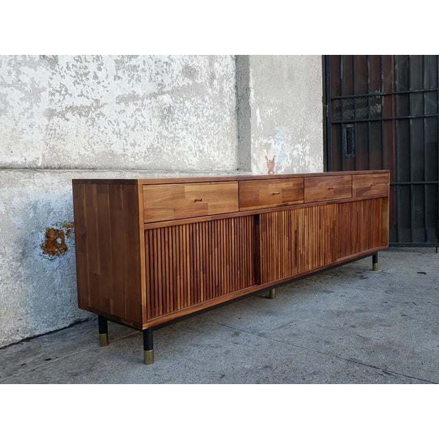 Mid Century Modern Style Eclectic Credenza For Sale In Los Angeles - Image 6 of 7
