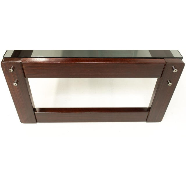 Mid 20th Century Percival Lafer Brazillian Rosewood Coffee Table For Sale - Image 5 of 9