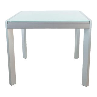 Calligaris Extendable Glass Top Table For Sale