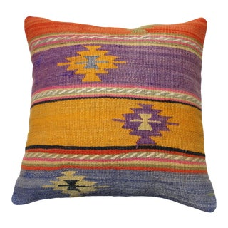 Kilim Rug Pillow Cover, For Sale
