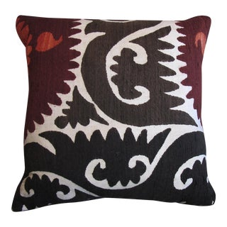 Vintage Suzani Pillow For Sale