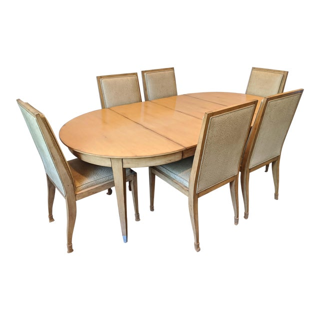 Swaim Dining Set - 7 Pieces For Sale