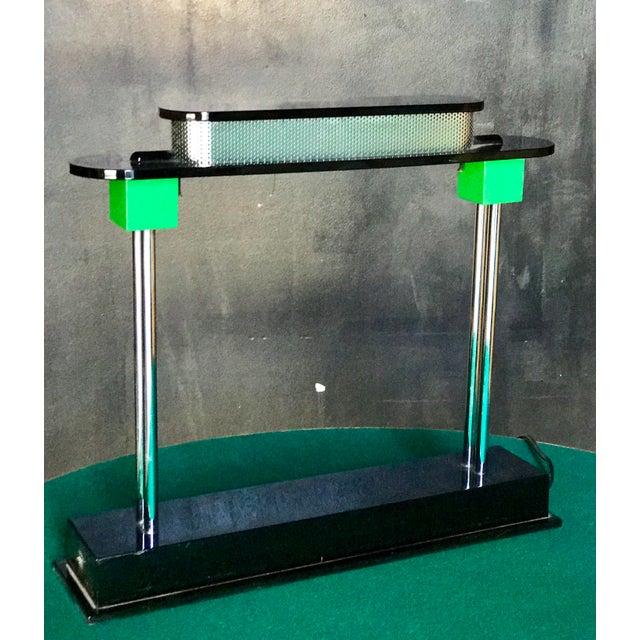 Italian Ettore Sottsass Italian Table Lamp For Sale - Image 3 of 6