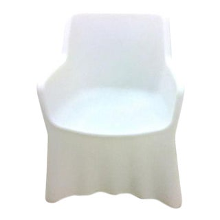 Molded Fiberglass Lighted Ghost Chair For Sale
